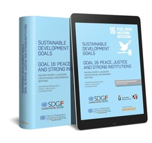 Sustainable development goals Goal 16: Peace, justice and strong institutions (Papel + e-book)