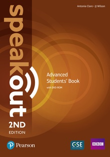 Speakout Advanced 2nd Edition Students' Book and DVD-ROM Pack