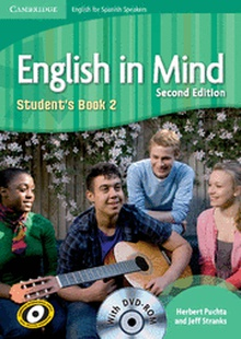 English in Mind for Spanish Speakers Level 2 Student's Book with DVD-ROM 2nd Edition