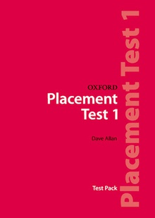 Oxford Placement Tests 1. Pack Revised Ed