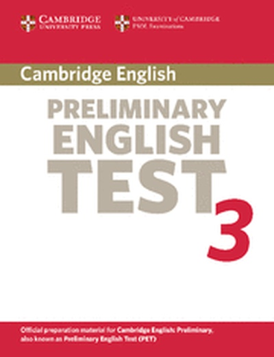 Cambridge Preliminary English Test 3 Student's Book 2nd Edition