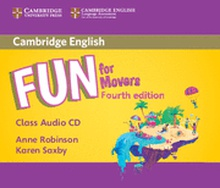 Fun for Movers Class Audio CD 4th Edition