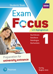 Exam Focus 1 Student's Book with MyEnglishLab