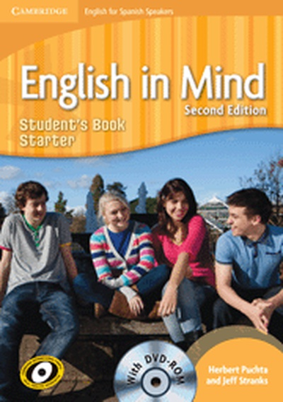 English in Mind for Spanish Speakers Starter Level Student's Book with DVD-ROM 2nd Edition