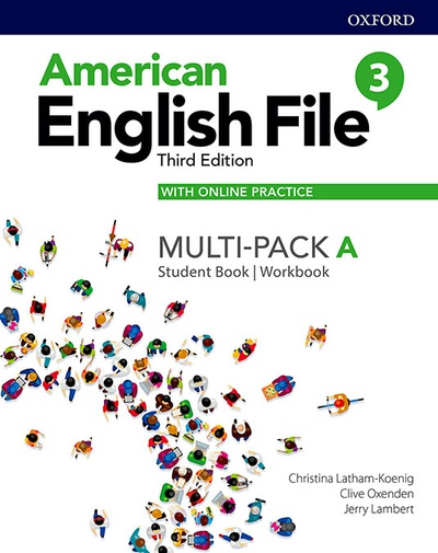 American English File 3th Edition 3. MultiPack A