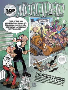 Los monstruos | El circo (Top Cómic Mortadelo 55)