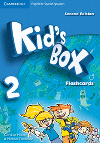Kid's Box for Spanish Speakers  Level 2 Flashcards 2nd Edition