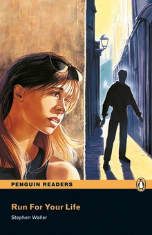 Penguin Readers 1: Run for your life Book & CD Pack