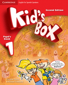 Kid's Box for Spanish Speakers  Level 1 Pupil's Book with My Home Booklet 2nd Edition