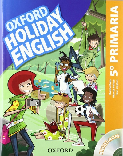 Holiday English 5.º Primaria. Student's Pack 3rd Edition