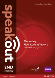 Speakout Elementary 2nd Edition Flexi Students' Book 1 with MyEnglishLabPack