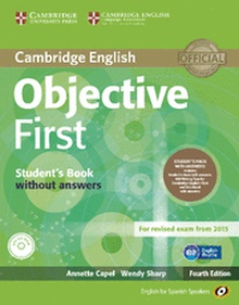 Objective First for Spanish Speakers Student's Pack with Answers (Student's Book with CD-ROM, Workbook with Audio CD) 4th Edition