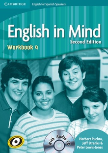 English in Mind for Spanish Speakers Level 4 Student's Book with DVD-ROM 2nd Edition