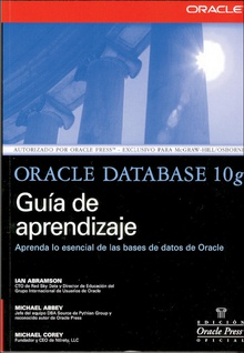 Oracle Database 10g Guia de aprendizaje