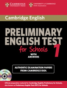 Cambridge Preliminary English Test for Schools 1 Student's Book with Answers