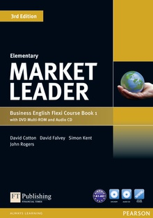 Market Leader Elementary Flexi Course Book 1 Pack