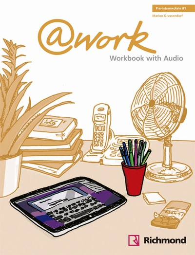@WORK 2 WORKBOOK+CD PRE-INTERMEDIATE [B1]