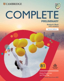 Complete Preliminary Second edition. Student's Book with answers with Online Practice.