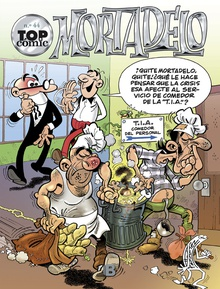 ¡A reciclar se ha dicho! | La Brigada Bichera (Top Cómic Mortadelo 44)