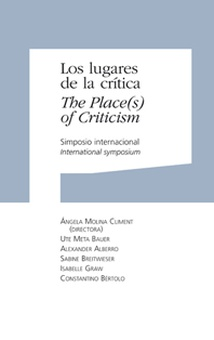 Los lugares de la crítica. The Place(s) of Criticism