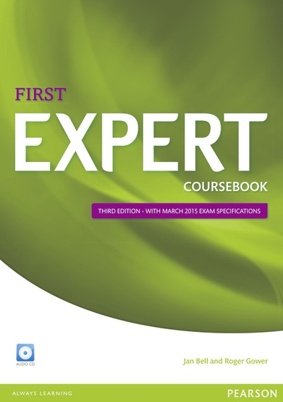 Expert First 3rd Edition Coursebook with CD Pack