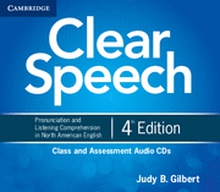 Clear Speech Class and Assessment Audio CDs (4) 4th Edition