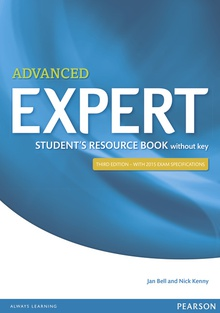 Expert Advanced 3rd Edition Student's Resource Book without Key