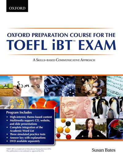 Oxford Preparation Course for the TOEFL IBT Exam. Student's Book Pack with Audio CDs and Website Access Code