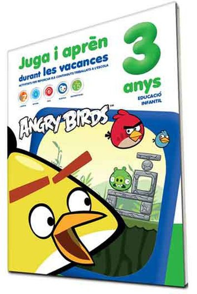 Angry Birds 3 anys