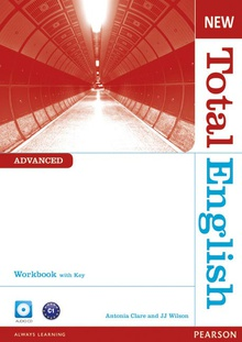 New Total English Advanced Workbook with Key and Audio CD Pack