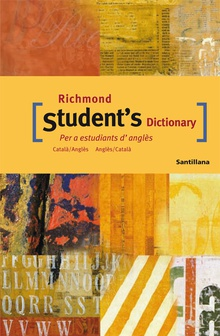 RICHMOND STUDENT'S DICTONARY CATALA-ANGLES