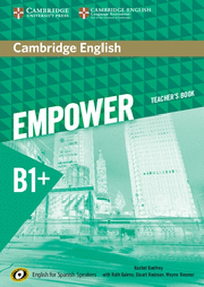 Cambridge English Empower for Spanish Speakers B1+ Teacher's Book
