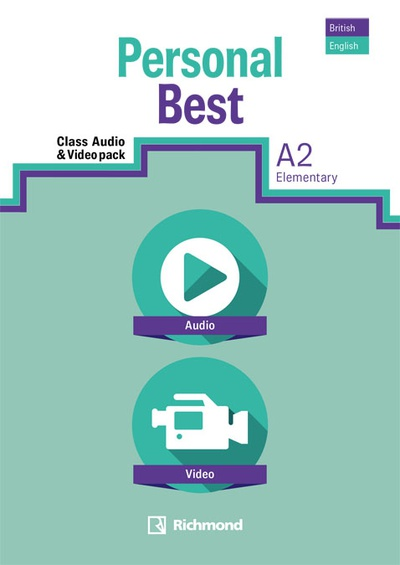 PERSONAL BEST A2 AUDIO VIDEO PACK