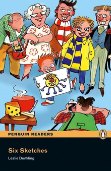 Penguin Readers 1: Six Sketches Book & CD Pack