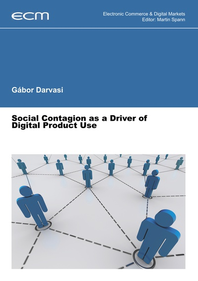 Social Contagion as a Driver of Digital Product Use