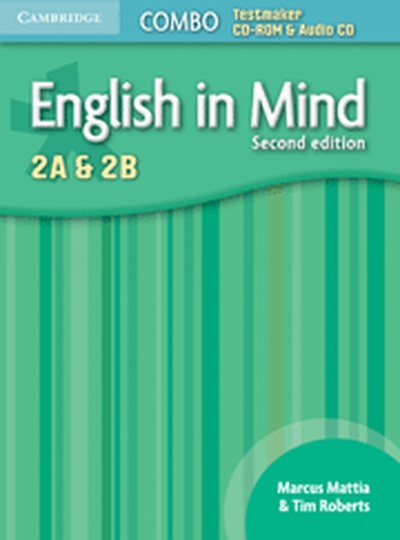 English in Mind Levels 2A and 2B Combo Testmaker CD-ROM and Audio CD 2nd Edition