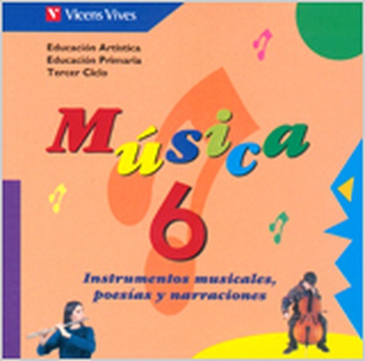 Musica 6 Cd Material Auditivo Para El Aula