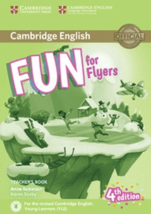 Fun for Flyers Teacher's Book with Downloadable Audio 4th Edition
