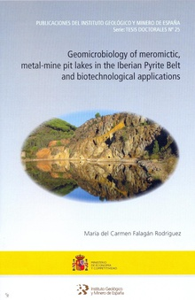 Geomicrobiology of meromictic, metal-mine pit lakes in the Iberian Pyrite Belt and biotechnological applications