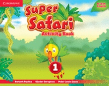 Super Safari Level 1 Activity Book