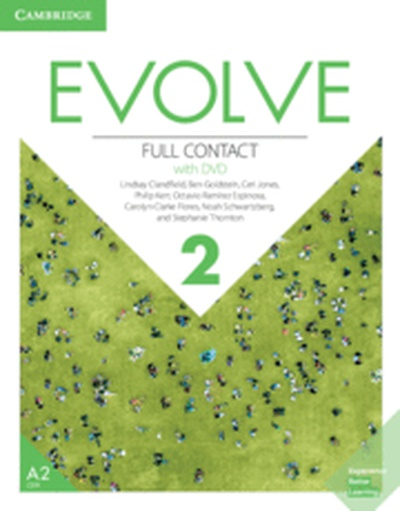 Evolve. Full Contact with DVD. Level 2