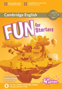 Fun for Starters Teacher's Book with Downloadable Audio 4th Edition