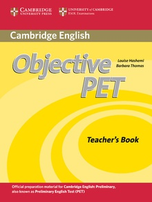 Objective PET Teacher's Book 2nd Edition