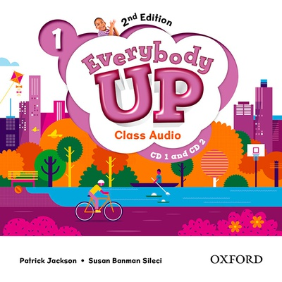 Everybody Up! 1. Class Audio CD (2) 2nd Edition