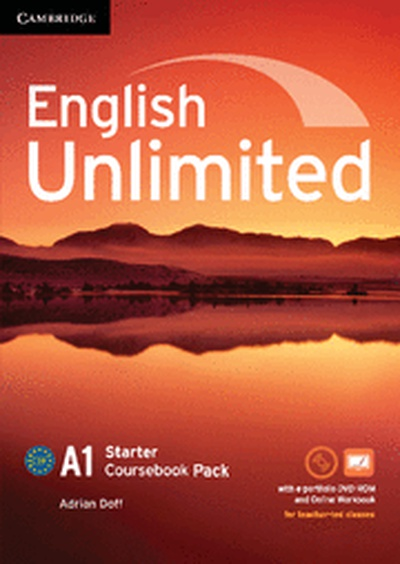 English Unlimited Starter Coursebook with e-Portfolio and Online Workbook Pack