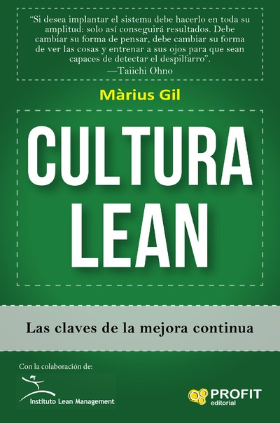 Cultura Lean. Ebook.