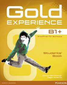 Gold Experience B1+ Students' Book with DVD-ROM Pack