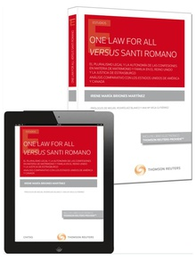 One Law for all versus Santi Romano (Papel + e-book)