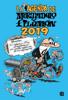 La agenda de Mortadelo y Filemón 2019