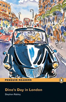 Penguin Readers ES: Dino's Day in London Book & CD Pack